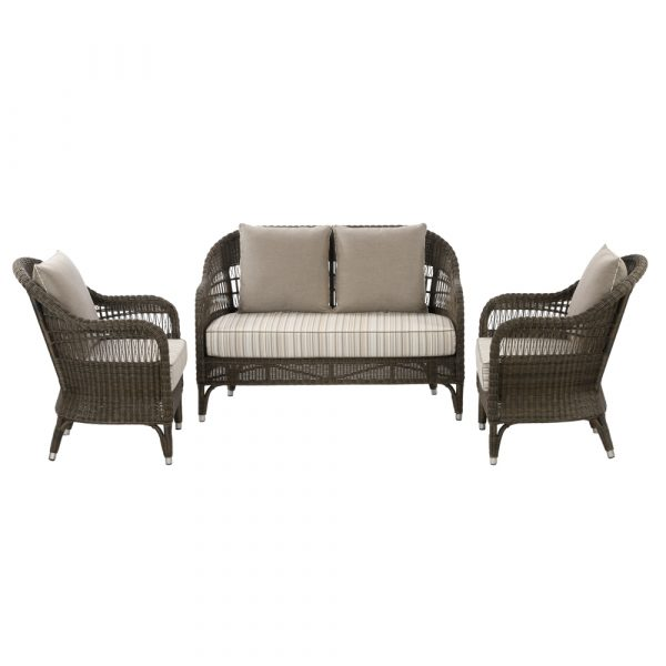 Evelyn sofa set: 2 seater