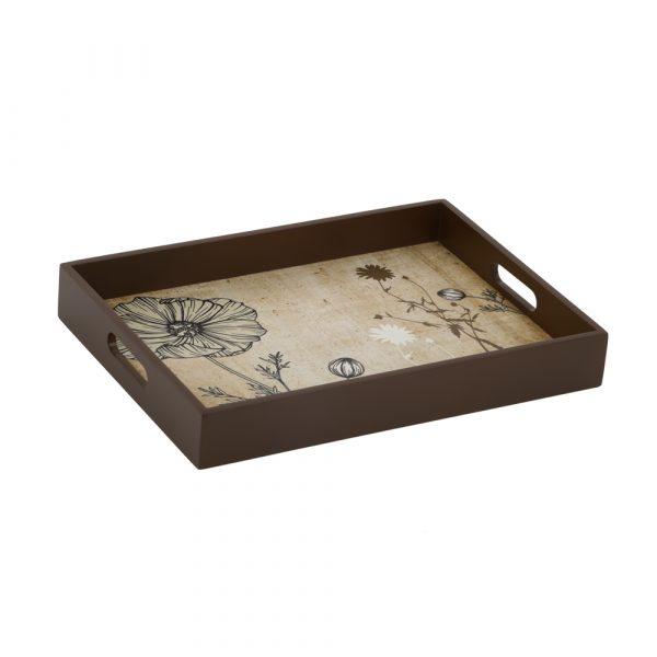 Antique botanical tray