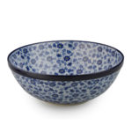 Stoneware: Large bowl, Blue & White in dragonfly pattern